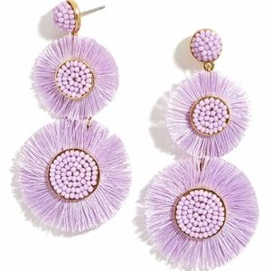 LARGE MARIETTE FRINGE DROP EARRINGS